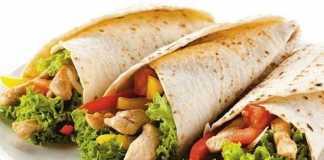 Тортилья с курицей и овощами - пошаговый рецепт с фото