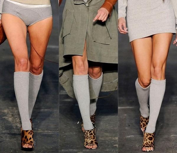 Модные новинки сезона – носочки и гольфы