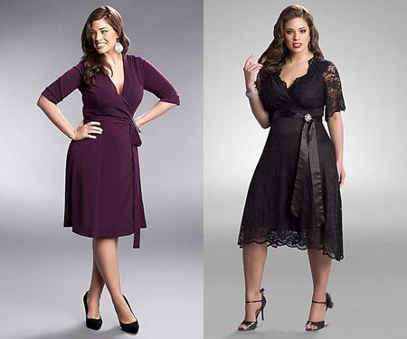Как следует одеваться полным женщинам