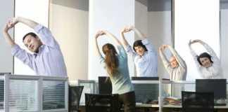 Фитнес-гимнастика для работников офиса