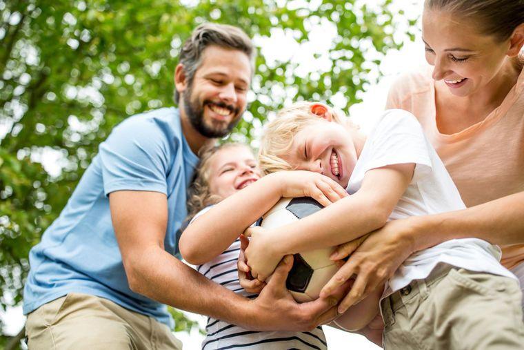 Любовь к детям - награда для родителей!