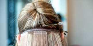 Наращивание прядей и стразы на волосы для неповторимого образа