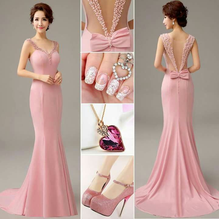 Вечернее платье - непременный атрибут настоящей леди