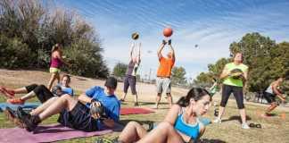 Фитнес на свежем воздухе