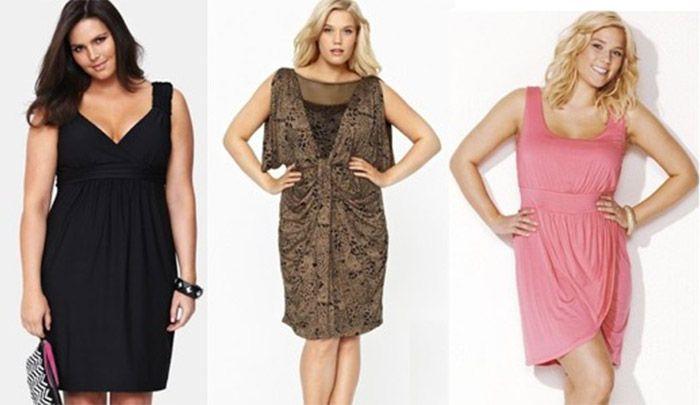 Как правильно одеваться полным девушкам?
