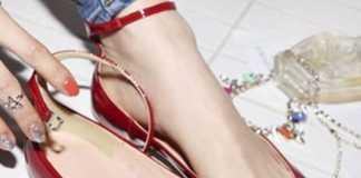 С какими нарядами можно носить красные туфли?
