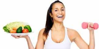 Здоровый рацион фитнес-леди