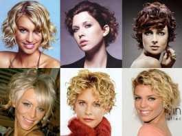Модные стрижки для волнистых волос