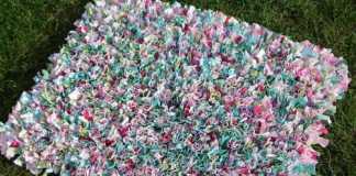 Как сделать коврик из лоскутков своими руками
