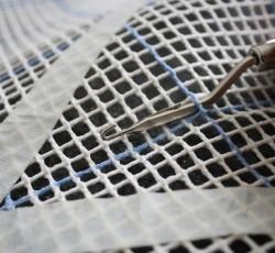 Вязание коврика из лоскутков своими руками Шаг 1
