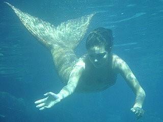Фото реальной водной русалки