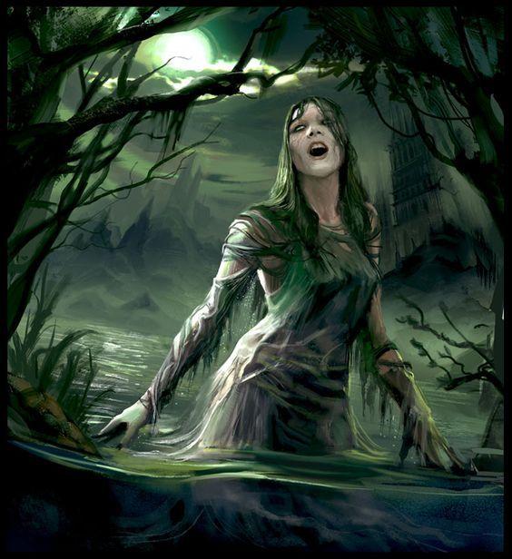 Версия русалки из западных легенд о злых девах, живущих в воде