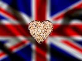 Овсянка м английский флаг