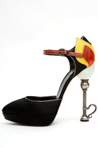 Необычная женская обувь (38 Фото) 36