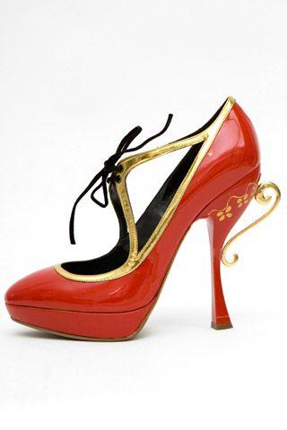 Необычная женская обувь (38 Фото) 37