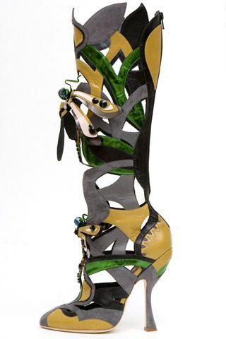 Необычная женская обувь (38 Фото) 38