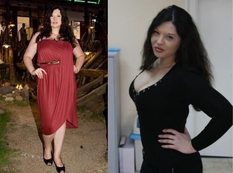 Фотографии Инны Воловичевой до и после похудения