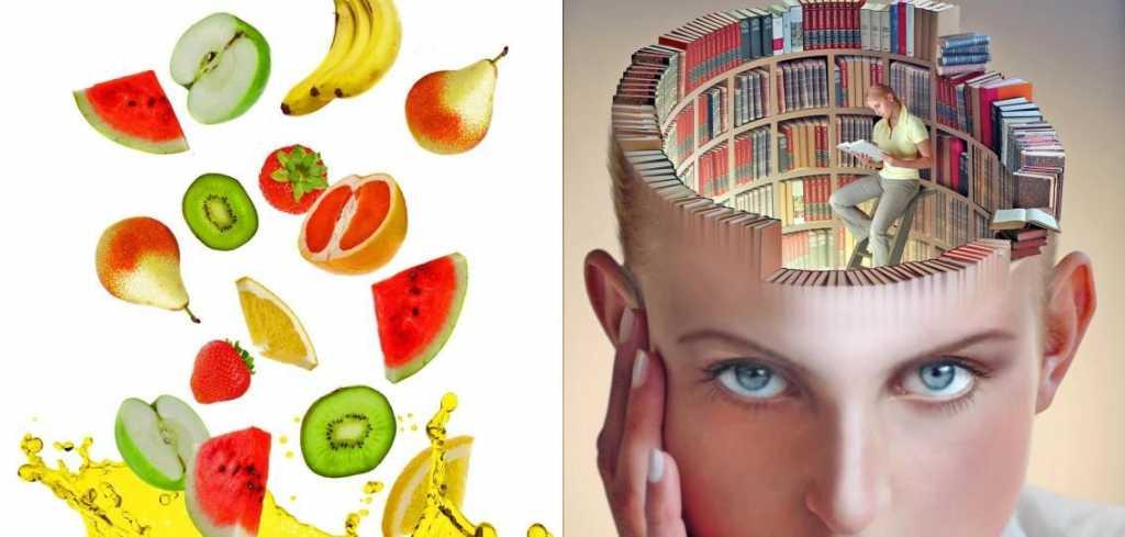 Правильное питание для улучшения работы мозга