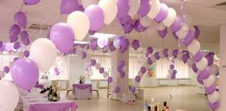 Оформляем свадьбу воздушными шариками
