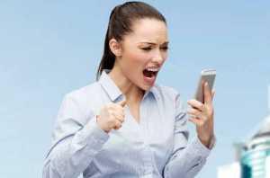телефон и женская мнительность