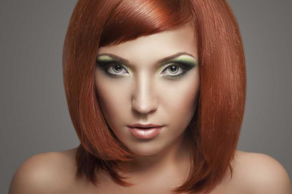 макияж для рыжих женщин