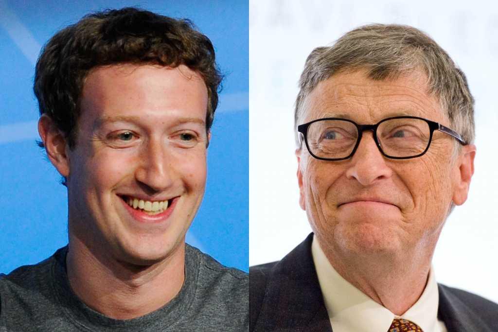 Марк Цукерберг, Билл Гейтс