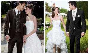 Одежда невесты и жениха