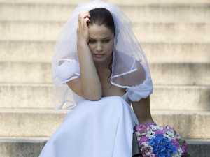 невеста в раздумье