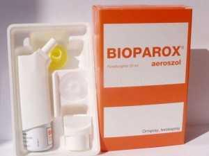 Как действует Биопарокс и дозировки