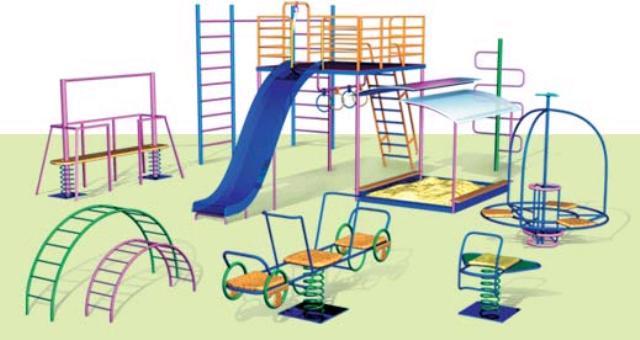 Детские площадки для самых маленьких