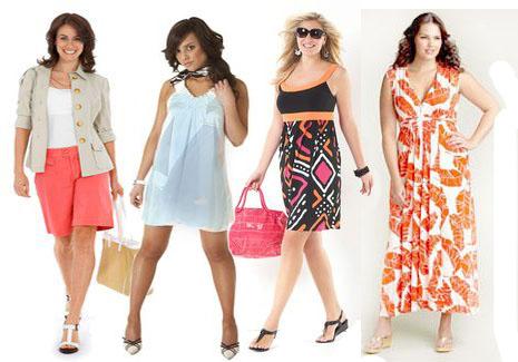 Особенности элегантной моды для полных девушек