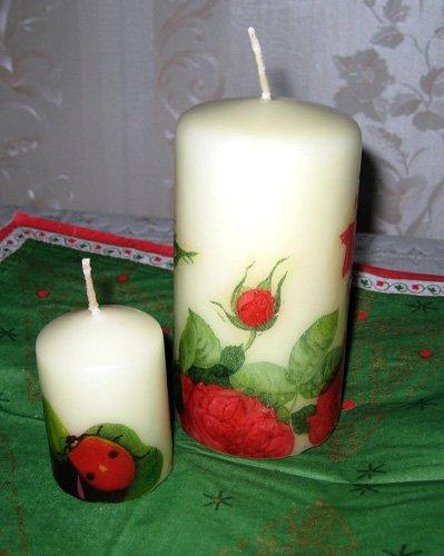 мастер-класс по изготовлению свечей