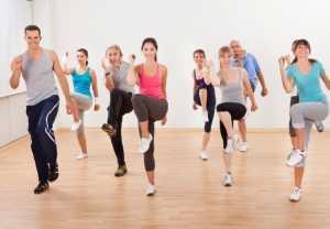 Аэробные упражнения на похудение