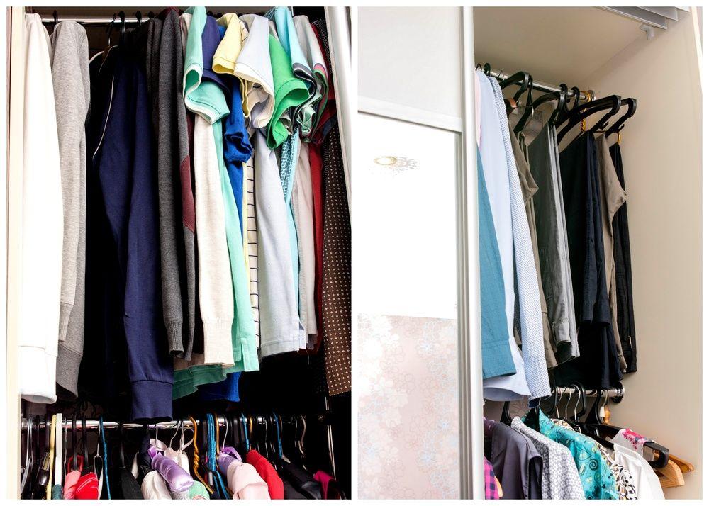 Белая рубашка у него в шкафу
