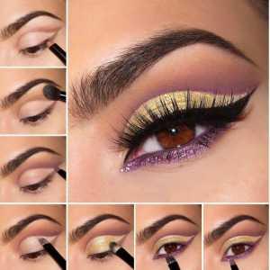 Грамотный макияж для визуального увеличения глаз
