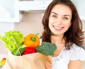 Питание для молодых женщин