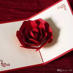 Ты можешь сделать цветок в подарок с сотней пожеланий