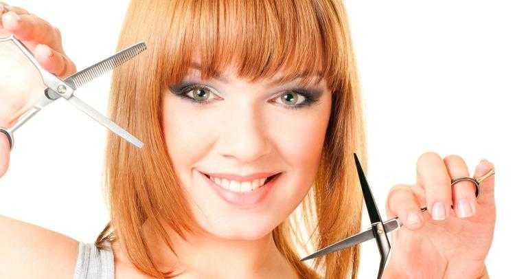 Стрижем длинные волосы лесенкой