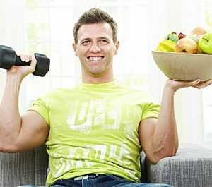 муж сел на диету
