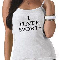 ненавижу спорт