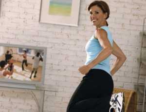 упражнения у телевизора