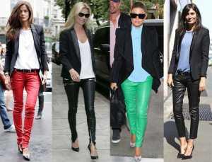 женские штаны и рубашки