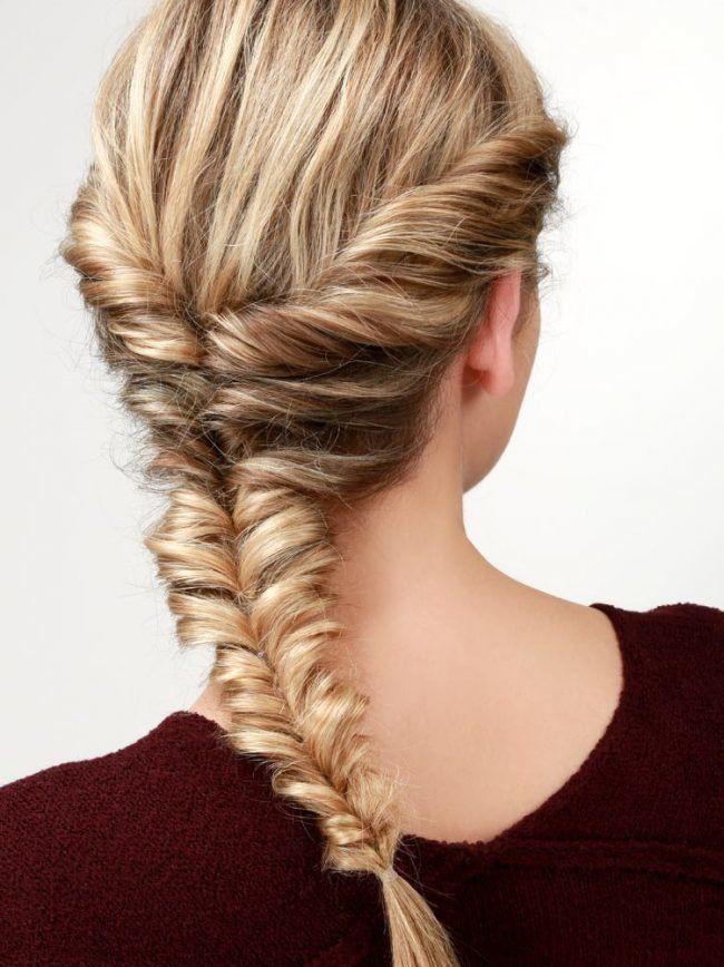 коса полуколосок
