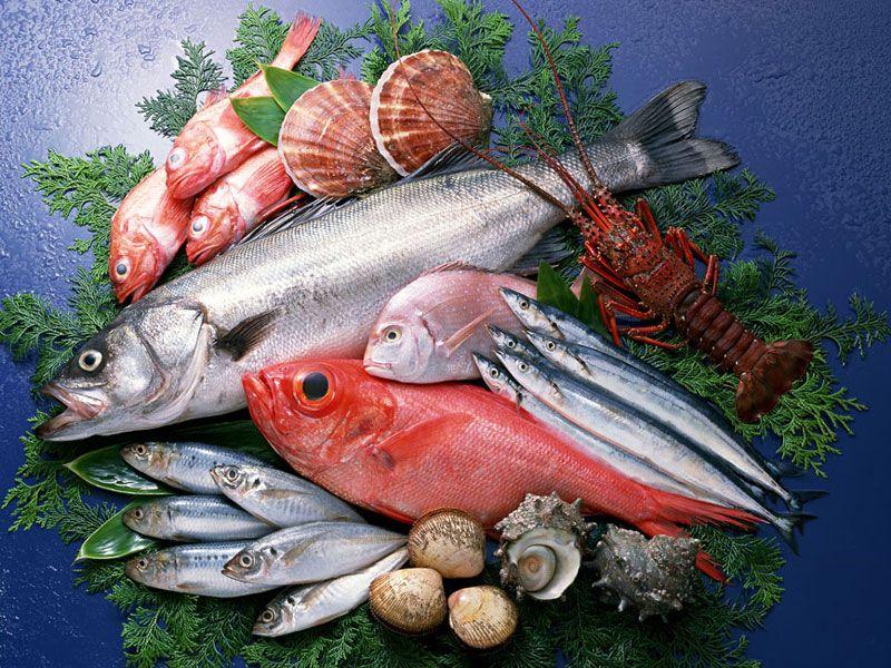 рыбные продукты