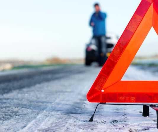 аварийный знак при автомобильных авариях